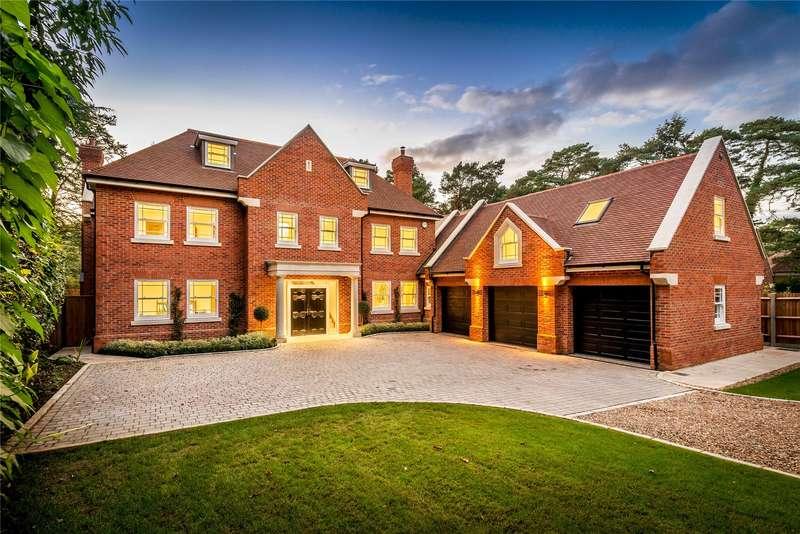 8 Bedrooms Detached House for sale in Holly Bank Road, Hook Heath, Woking, Surrey, GU22