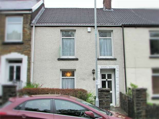 3 Bedrooms Terraced House for sale in St Annes Terrace, Tonna, Neath, West Glamorgan