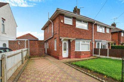 3 Bedrooms Semi Detached House for sale in Thompson Crescent, Sutton-In-Ashfield, Mansfield, Nottinghamshire