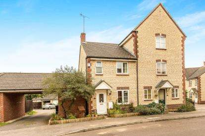 2 Bedrooms Semi Detached House for sale in Siskin Road, Bicester, Oxfordshire