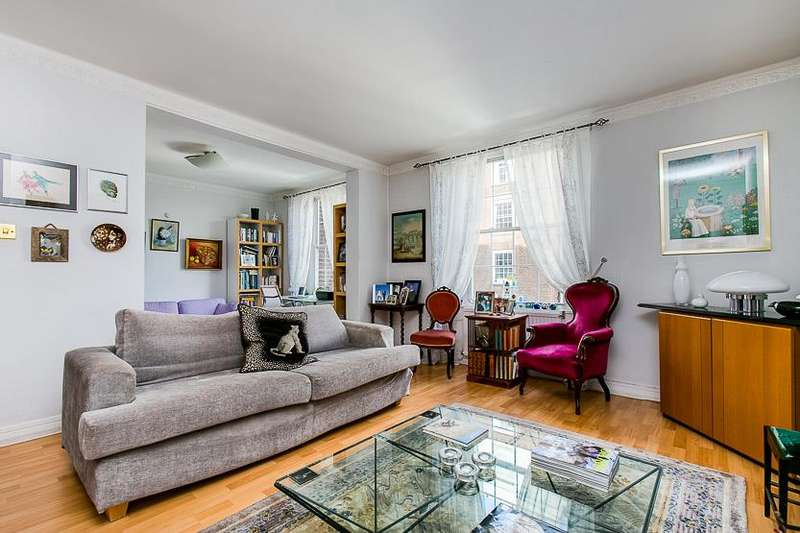 2 Bedrooms Flat for sale in North End House, Fitzjames Avenue, London, W14