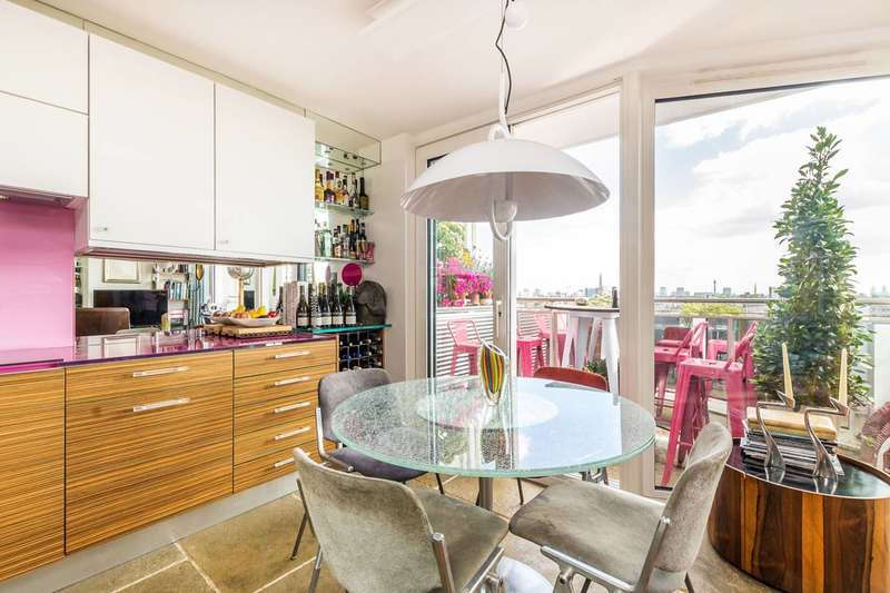 2 Bedrooms Flat for sale in Campden Hill Towers, Notting Hill, W11