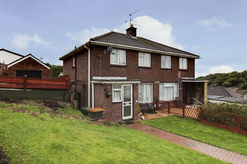 3 Bedrooms Semi Detached House for sale in Glanwern Rise, Newport