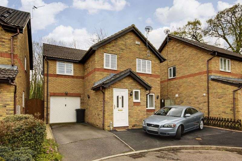 4 Bedrooms Detached House for sale in Jane Close, Newport
