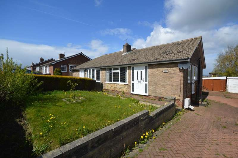 2 Bedrooms Semi Detached Bungalow for sale in Oakland Drive, Netherton, Wakefield