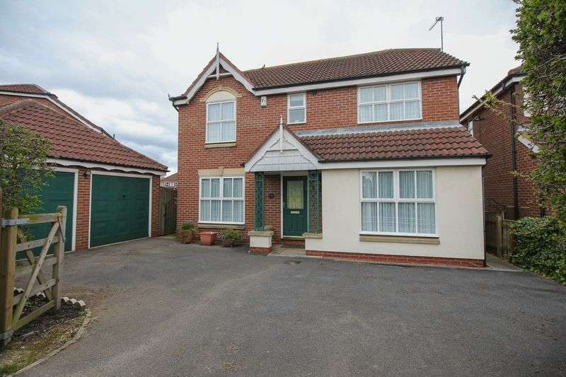 4 Bedrooms Detached House for sale in Rawcliffe Lane, York