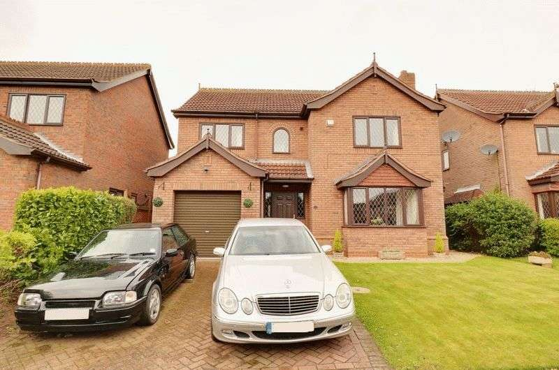 4 Bedrooms Detached House for sale in Millfields Way, Barrow-Upon-Humber