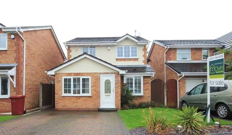 3 Bedrooms Detached House for sale in Catkin Road, Halewood, Liverpool, L26