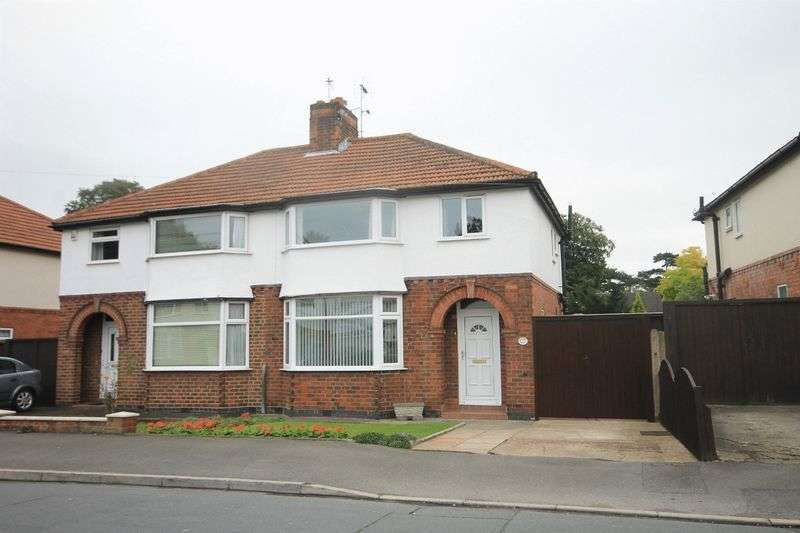 3 Bedrooms Semi Detached House for sale in NUNSFIELD DRIVE, ALVASTON