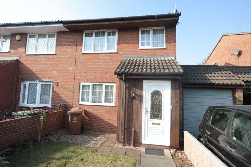 3 Bedrooms Semi Detached House for sale in Walsham Close, North Thamesmead