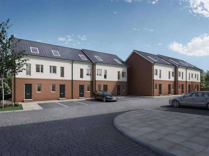 2 Bedrooms Flat for sale in The Woodlands Chesterfield, Derbyshire
