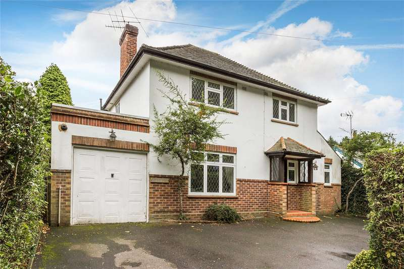 4 Bedrooms Detached House for sale in Stonehill Road, Ottershaw, Chertsey, Surrey, KT16
