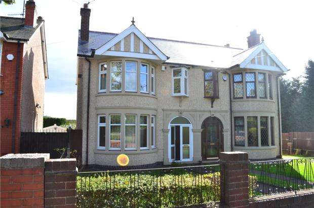 3 Bedrooms Semi Detached House for sale in Ansty Road, Wyken, Coventry, West Midlands
