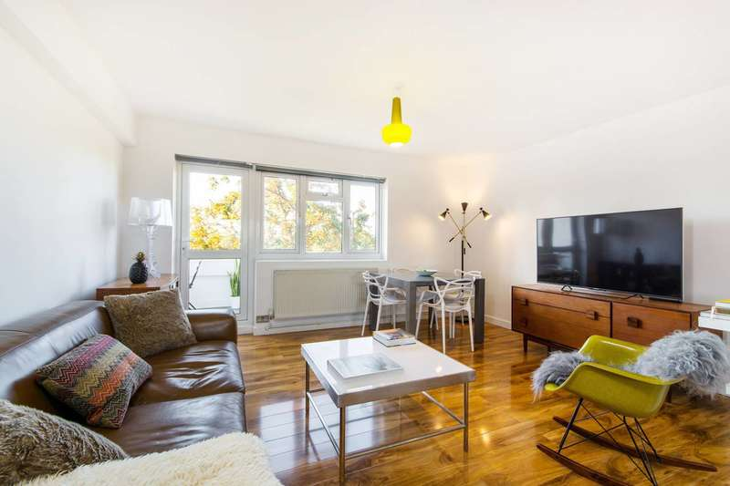 2 Bedrooms Flat for sale in Studley Road, Stockwell, SW4