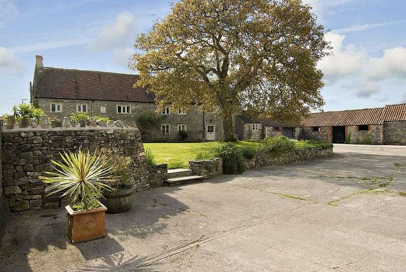 6 Bedrooms Detached House for sale in Detached 6 bed house with 3 bed cottage, stone outbuildings and land