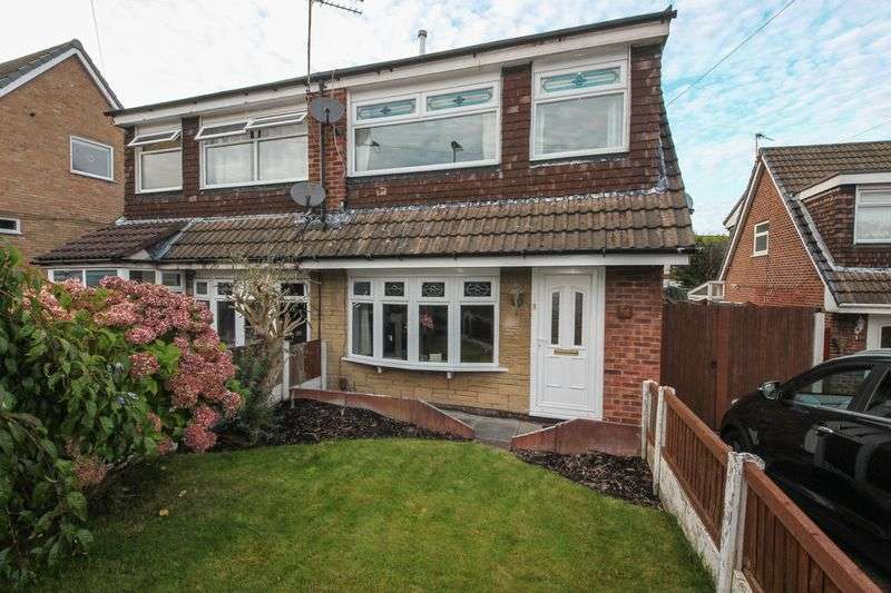 3 Bedrooms Semi Detached House for sale in Dunscore Road, Winstanley