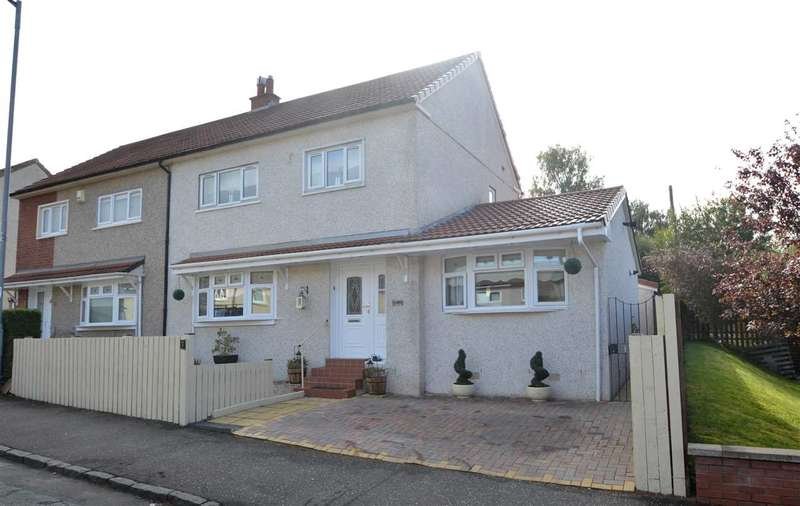 4 Bedrooms Semi Detached House for sale in Burnblea Street, Hamilton