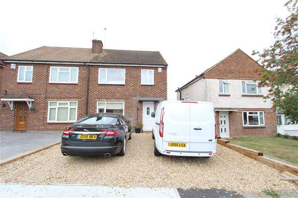 3 Bedrooms Semi Detached House for sale in Vicarage Lane,, Chalk, Gravesend