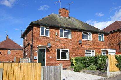3 Bedrooms Semi Detached House for sale in Fern Avenue, Staveley, Chesterfield, Derbyshire