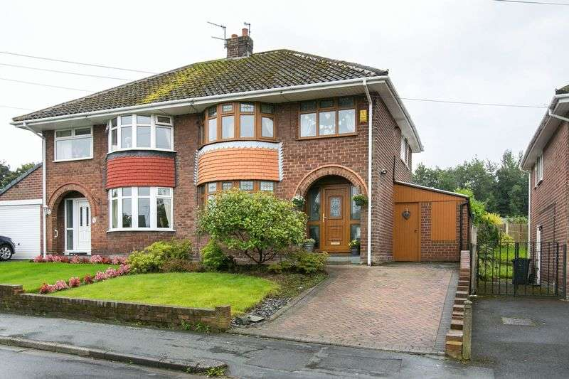 3 Bedrooms Semi Detached House for sale in Ravenhead Drive, Upholland, WN8 0AN