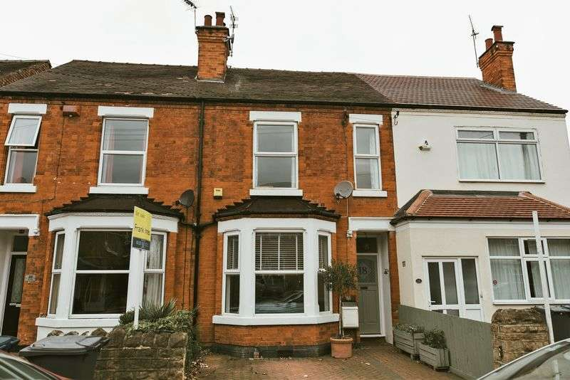 3 Bedrooms Terraced House for sale in Edward Road, Nottingham
