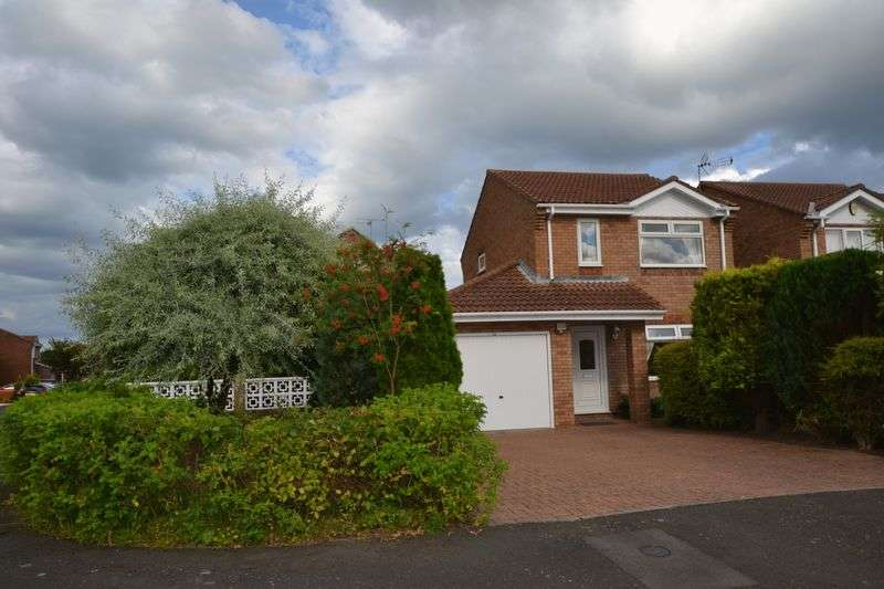 3 Bedrooms Detached House for sale in Gloster Park, Amble