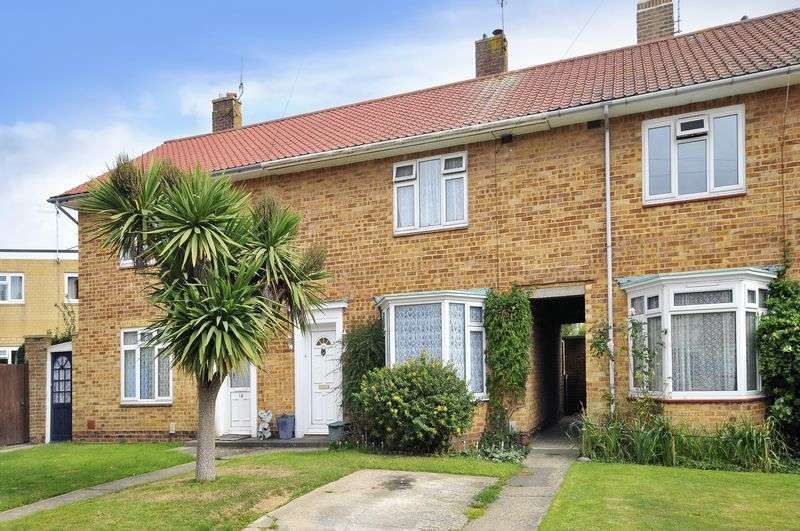 2 Bedrooms Terraced House for sale in Barrington Close, Goring-by-sea