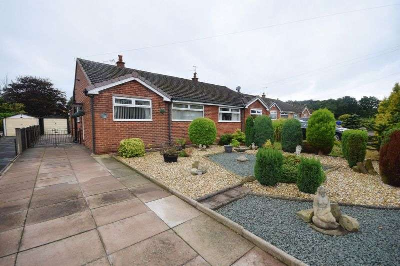 2 Bedrooms Semi Detached Bungalow for sale in Braemar Close, Werrington