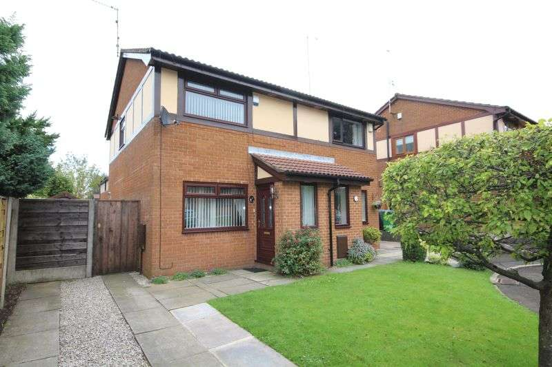 2 Bedrooms Semi Detached House for sale in BOTANY CLOSE, Heywood OL10 4QZ