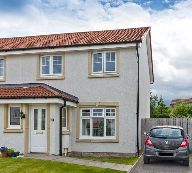 3 Bedrooms Semi Detached House for sale in Westfield Drive, Inverness, Highland, IV2
