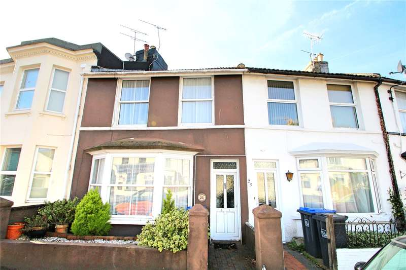 3 Bedrooms Terraced House for sale in Cobden Road, Worthing, West Sussex, BN11