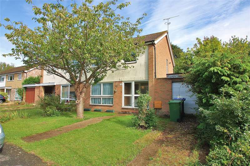3 Bedrooms Semi Detached House for sale in Grindstone Crescent, Knaphill, Woking, Surrey, GU21