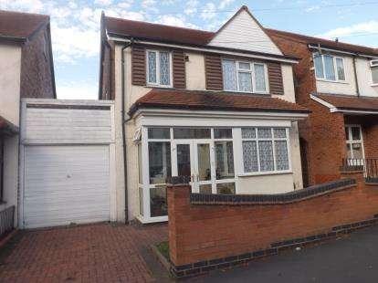 3 Bedrooms Detached House for sale in Doris Road, Sparkhill, Birmingham, West Midlands