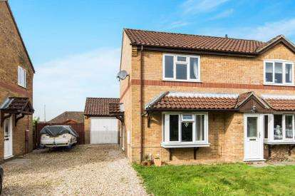 2 Bedrooms Semi Detached House for sale in College Close, Horncastle, 40 College Close, Horncastle