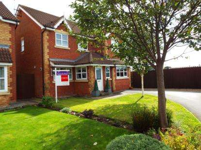 4 Bedrooms Detached House for sale in Blunstone Close, Crewe, Cheshire