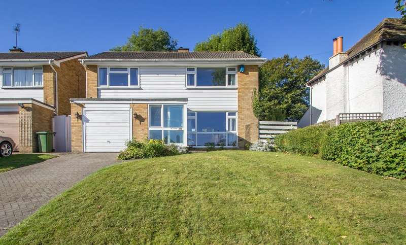 4 Bedrooms Detached House for sale in Riddlesdown Road, Purley, CR8 1DE