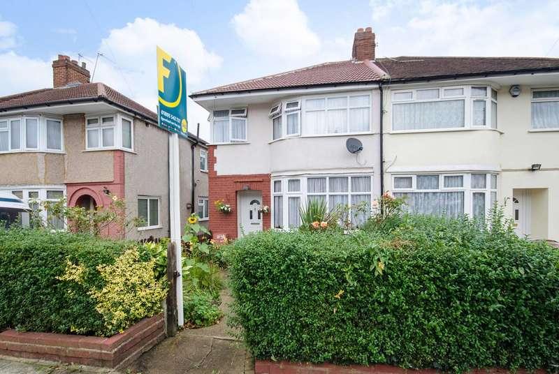 4 Bedrooms Semi Detached House for sale in Arundel Drive, Harrow, HA2