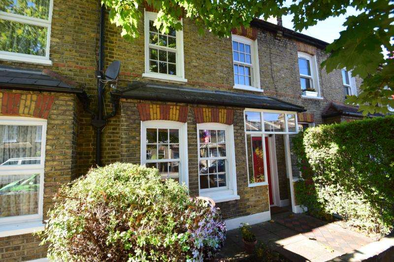 2 Bedrooms Terraced House for sale in Victory Road, London, SW19