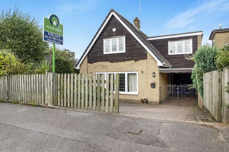 4 Bedrooms Detached House for sale in Vernon Crescent, Ravenshead, Nottingham, NG15