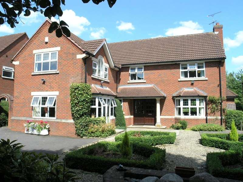 5 Bedrooms Detached House for sale in Hayley Croft, Duffield, Belper, Derbyshire, DE56