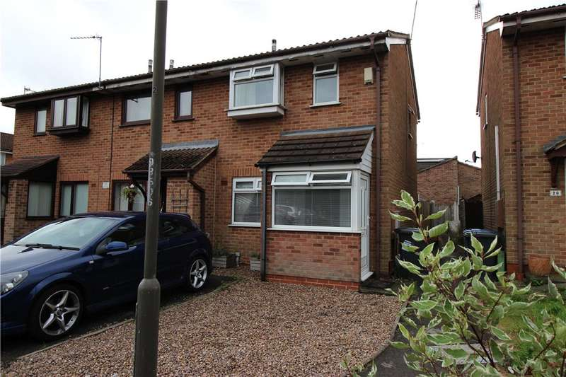 2 Bedrooms End Of Terrace House for sale in The Eyrie, Sinfin, Derby, Derbyshire, DE24