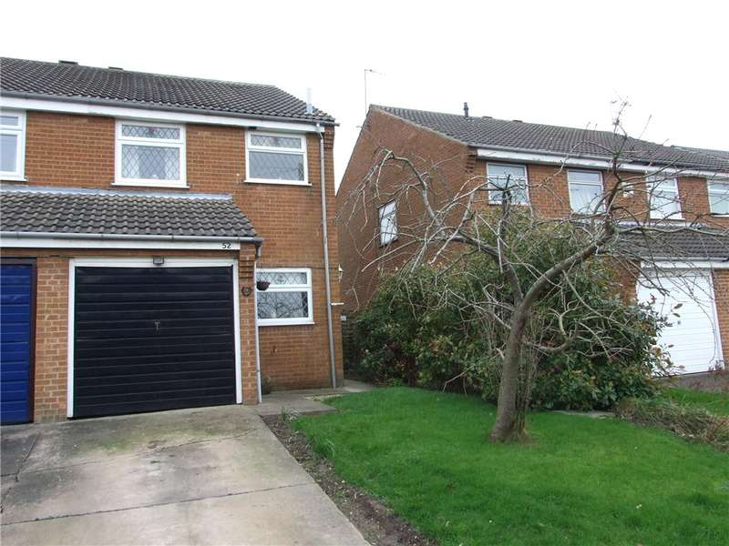 3 Bedrooms Semi Detached House for sale in The Crescent, Stanley Common, Ilkeston, Derbyshire, DE7