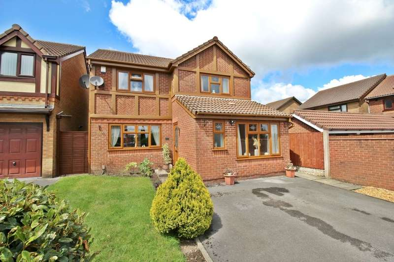 4 Bedrooms Detached House for sale in Rosina Close, Ashton-In-Makerfield, Wigan, WN4