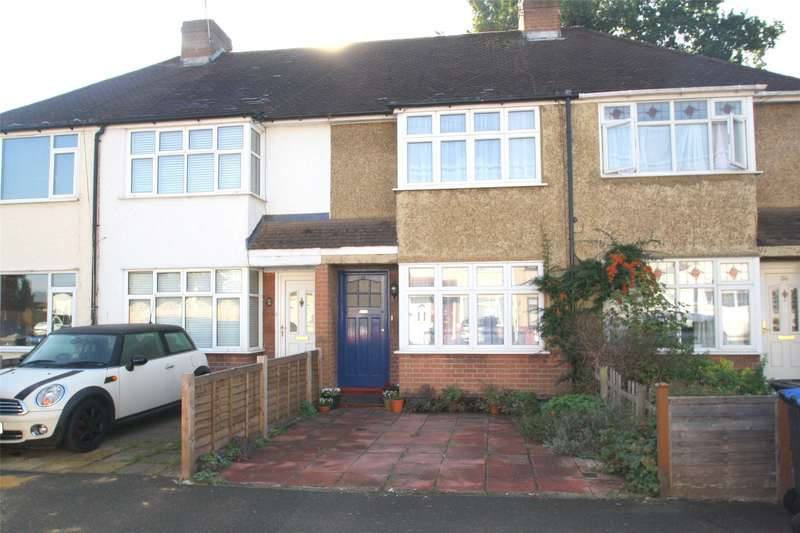 2 Bedrooms Terraced House for sale in Warwick Avenue, Egham, Egham, TW20