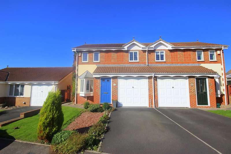 3 Bedrooms Semi Detached House for sale in Ashbourne Drive, Coxhoe, Durham