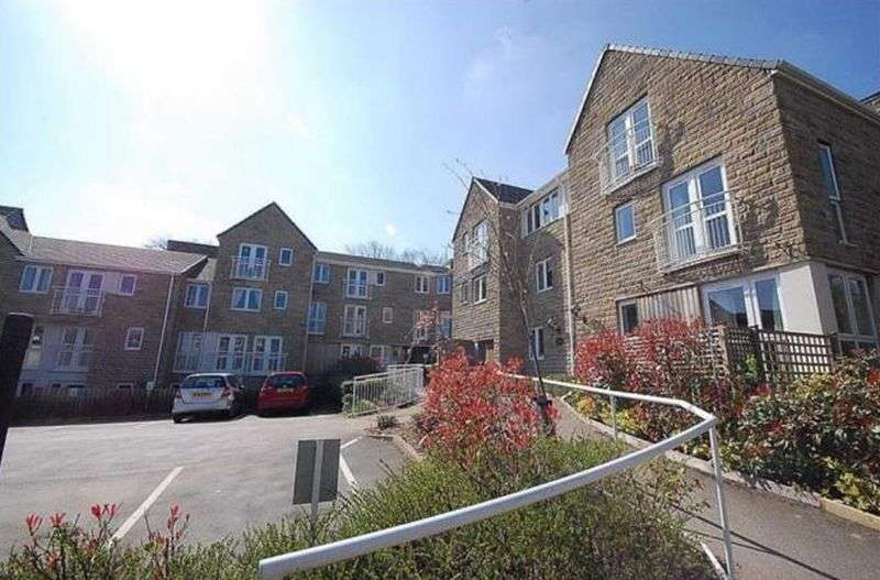 1 Bedroom Flat for sale in Sykes Court,St. Stephens Fold, Huddersfield: NO CHAIN one bed first floor retirement apartment