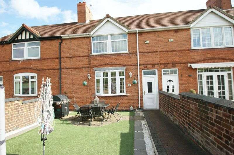 4 Bedrooms Terraced House for sale in Swanwick Avenue, Shirebrook,