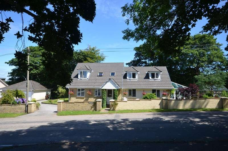 4 Bedrooms Detached House for sale in St. Pirans Hill, Perranwell Station