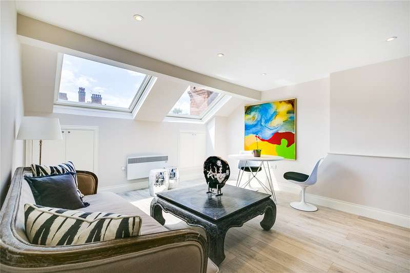2 Bedrooms Flat for sale in Lanark Mansions, Pennard Road, W12