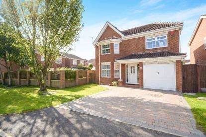 4 Bedrooms Detached House for sale in Kenilworth Close, Saxilby, Lincoln